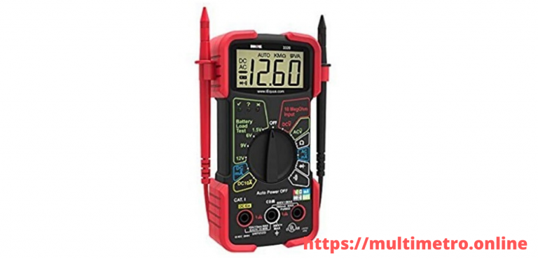 innova 3320 auto ranging digital multimeter